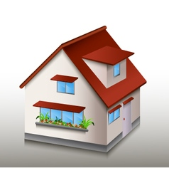 house for you design vector image