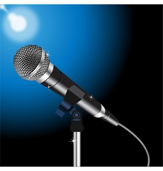 Microphone cord 2 vector image vector image