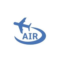 Air logo vector image