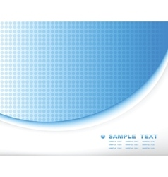 blue tech abstract background composition vector image