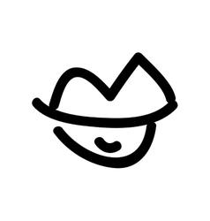 lips cartoon icon image vector image
