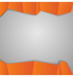Orange squares vector image