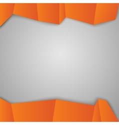 Orange squares vector image