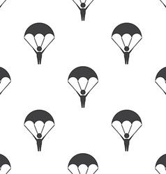 parachutist seamless pattern vector image