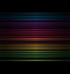 rainbow stripe metal vector image