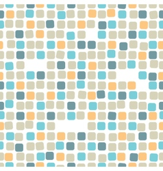 Colorful mosaic seamless patternTile vector image