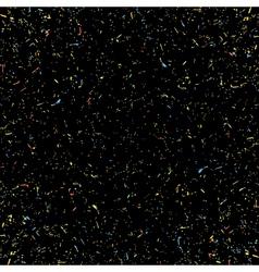 Black grainy texture vector