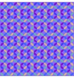 Blue Geometric Circle Pattern vector image
