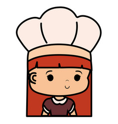 chef hat design vector image