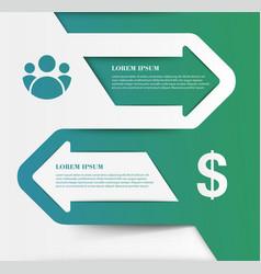 Creative infographics elements eps10business ideas vector