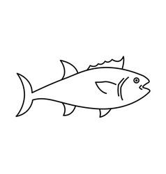 Fish design vector