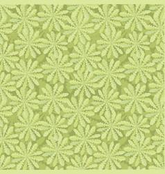 floral seamless pattern tiled oriental leaf vector image