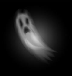 ghost poltergeist creature of halloween vector image