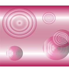 Light effects circle pink background vector image