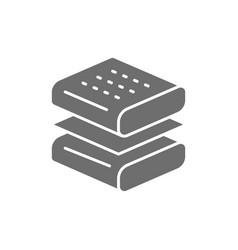 Orthopedic mattress layers absorbing material vector