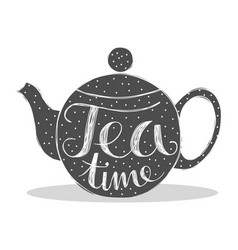 tea time vector image