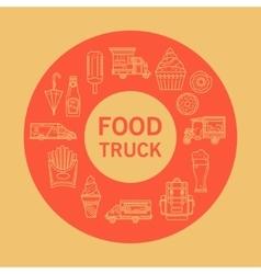 Card street food vector