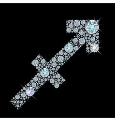 zodiac Sagittarius vector image vector image