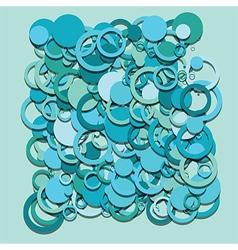circles abstract vector image