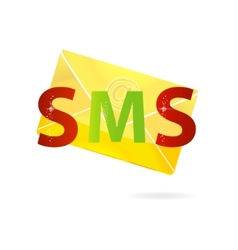magic gold message vector image