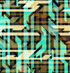 vintage urban seamless pattern vector image vector image