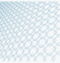 abstract blue lines squares pattern overlapping vector image