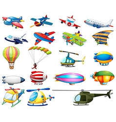 Air transport vector image