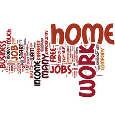 free work from home jobs do you want a job or a vector image