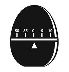 modern stopwatch icon simple style vector image