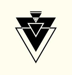 sacred geometry 0056 vector image