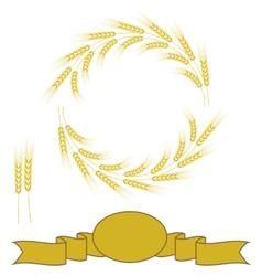 Yellow Wheats vector