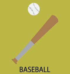 Baseball sport icon vector image