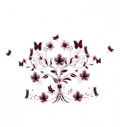 elegant design vector image vector image
