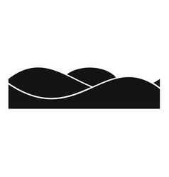 equalizer sound tune icon simple black style vector image