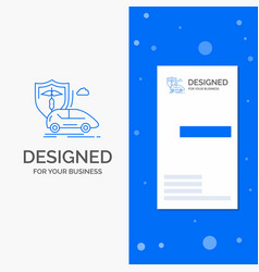 business logo for car hand insurance transport vector image