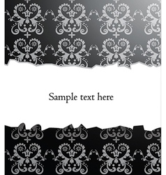 Damask backround vector