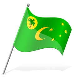Flag of Cocos Islands vector