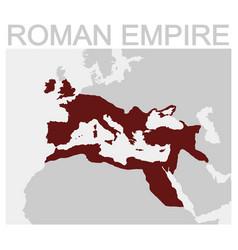 Map of the roman empire vector