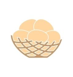 Nest simple icon vector