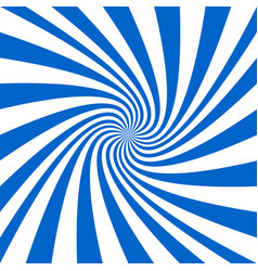 Blue and white spiral background - design vector