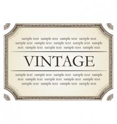 vintage framework marble vector image vector image