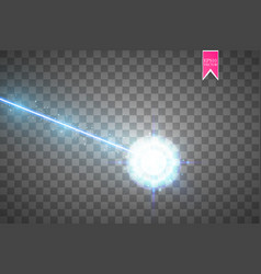 Abstract blue laser beam laser security beam vector