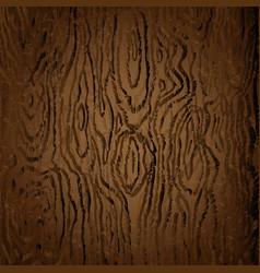 brown texture dark wood image vector image