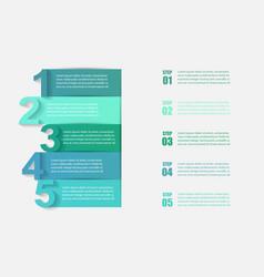 Business economy infographic elements vector