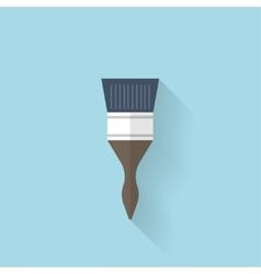 Flat web icon Brush vector
