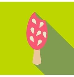 Fresh ice cream icon flat style vector