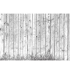 Grass and planks vector