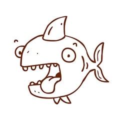 Hand Drawn Fish vector