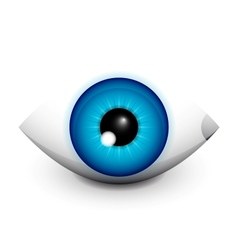 Hi-tech eye concept icon design vector image