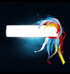 modern banner vector image
